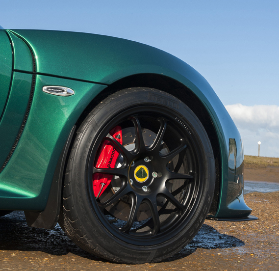 Exige Standard Black Gloss Wheel